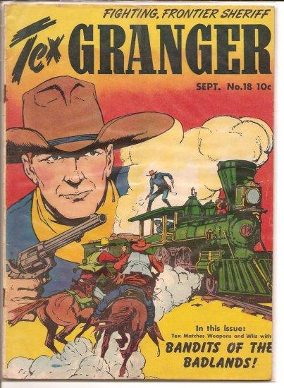 Tex Granger # 18, 2.5 GD +