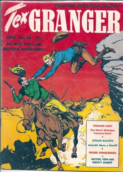 TEX GRANGER # 24, 4.0 VG
