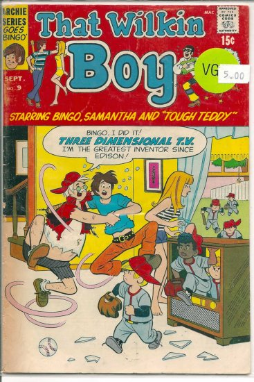 That Wilkin Boy # 9, 4.0 VG