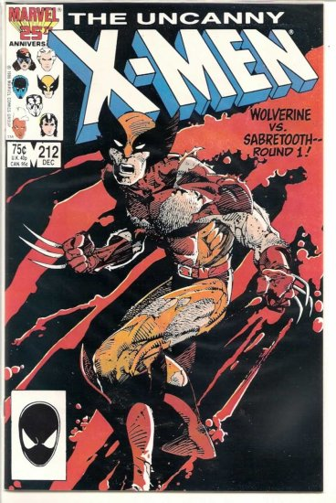 THE UNCANNY X-MEN # 212, 9.2 NM -
