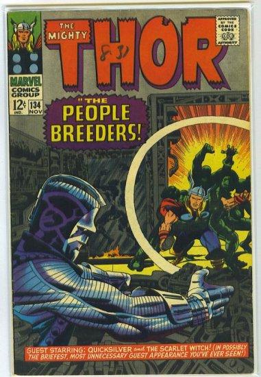 Thor # 134, 5.5 FN -