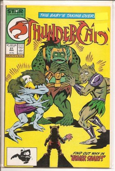 Thundercats # 21, 8.5 VF +