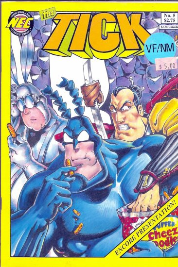 Tick , The # 5, 9.0 VF/NM