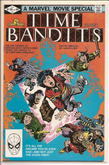 Time Bandits # 1, 8.5 VF +