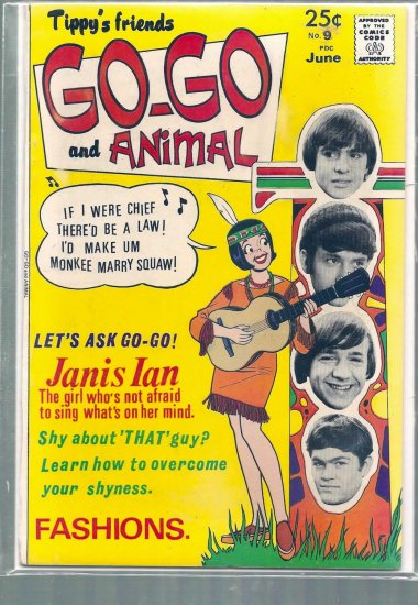 TIPPY'S FRIENDS GO-GO AND ANIMAL # 9, 6.0 FN