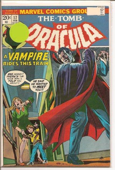 Tomb of Dracula # 17, 8.0 VF
