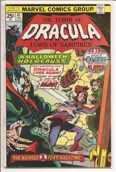 Tomb of Dracula # 41, 7.0 FN/VF