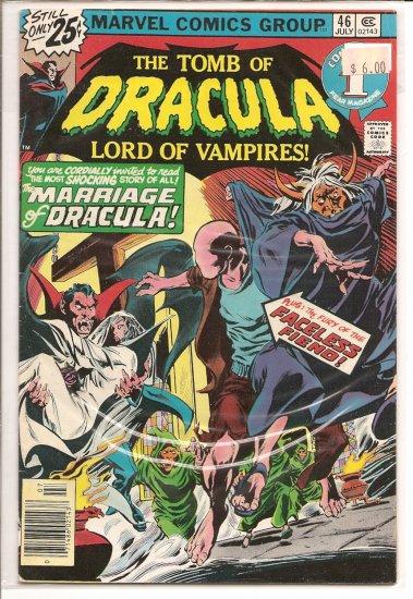 Tomb of Dracula # 46, 6.0 FN