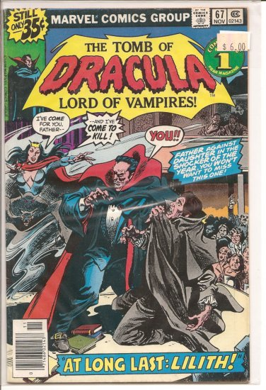 Tomb of Dracula # 67, 6.0 FN