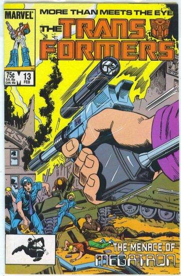 Transformers # 13, 4.5 VG +
