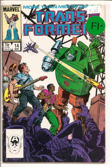 Transformers # 14, 6.5 FN +