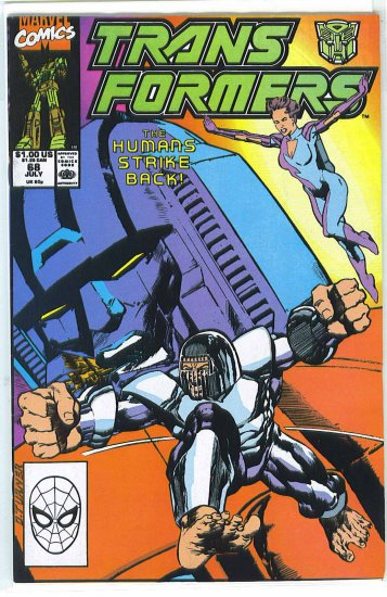 Transformers # 68, 4.5 VG +