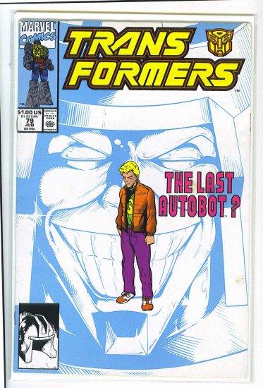 Transformers # 79, 6.0 FN
