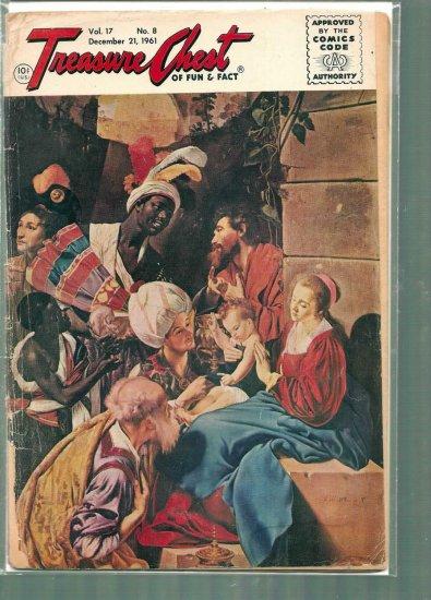 TREASURE CHEST VOLUME 17 # 8, 1.0 FR