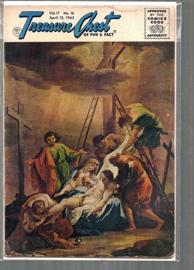 TREASURE CHEST VOLUME 17 # 16, 1.8 GD -