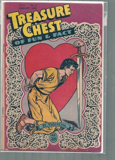TREASURE CHEST VOLUME 5 # 12, 3.0 GD/VG