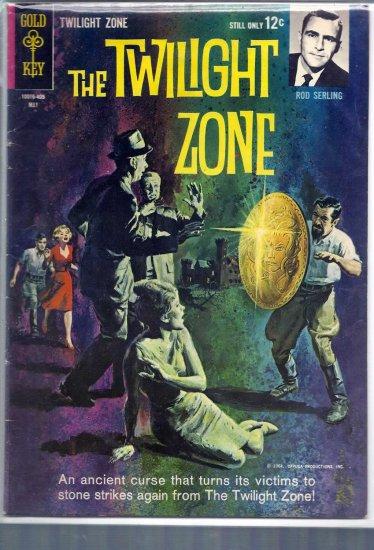 TWILIGHT ZONE # 7, 4.5 VG +