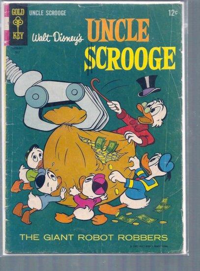 UNCLE SCROOGE # 58, 2.5 GD +