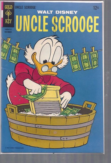 UNCLE SCROOGE # 72, 6.5 FN +