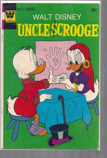 UNCLE SCROOGE # 104, 4.5 VG +