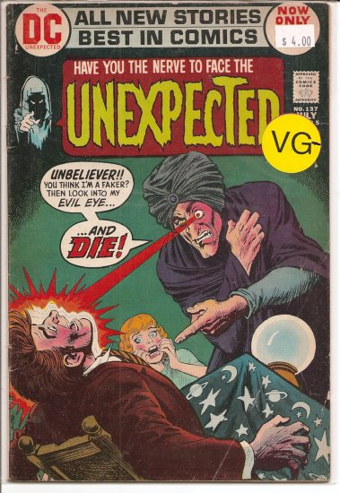 Unexpected # 137, 3.5 VG -