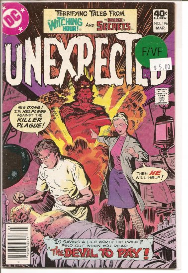 Unexpected # 196, 7.0 FN/VF