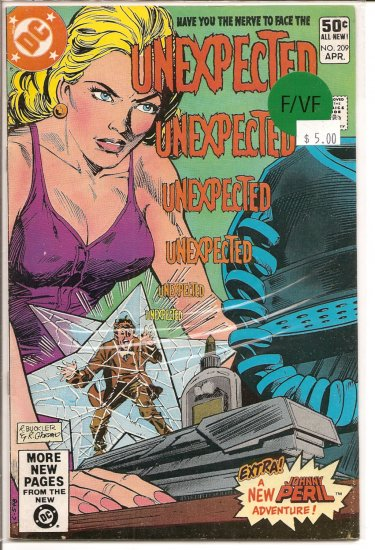Unexpected # 209, 7.0 FN/VF