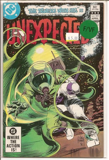 Unexpected # 221, 7.0 FN/VF