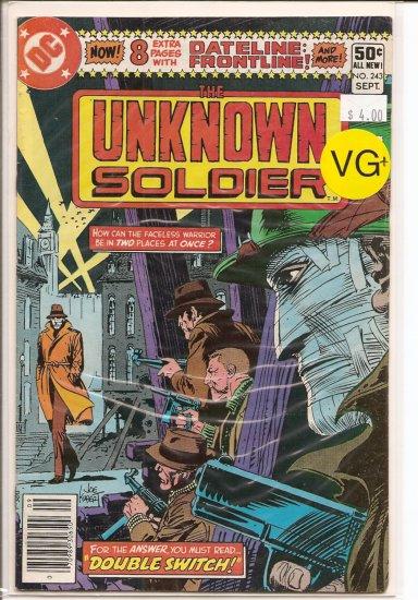 Unknown Soldier # 243, 4.5 VG +