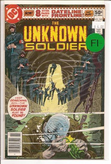 Unknown Soldier # 245, 5.5 FN -