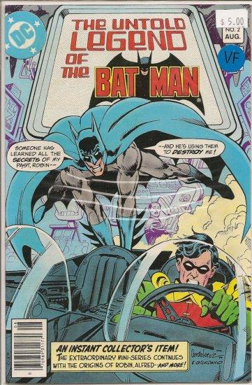 Untold Legend of the Batman # 2, 8.0 VF