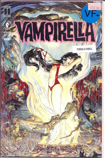 Vampirella Morning In America # 1, 8.5 VF +