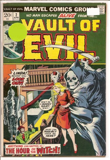 Vault of Evil # 2, 5.0 VG/FN