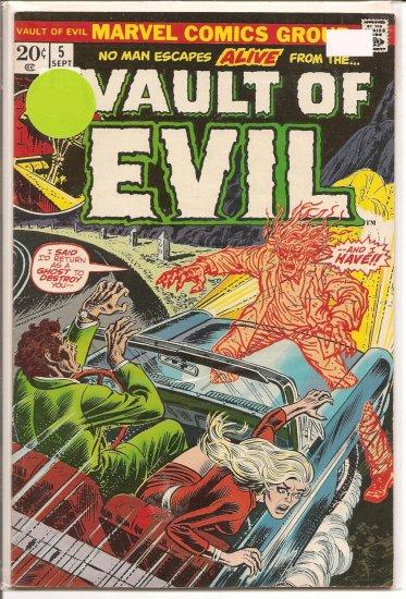 Vault of Evil # 5, 5.0 VG/FN