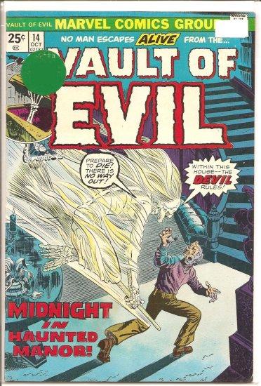 Vault of Evil # 14, 7.0 FN/VF