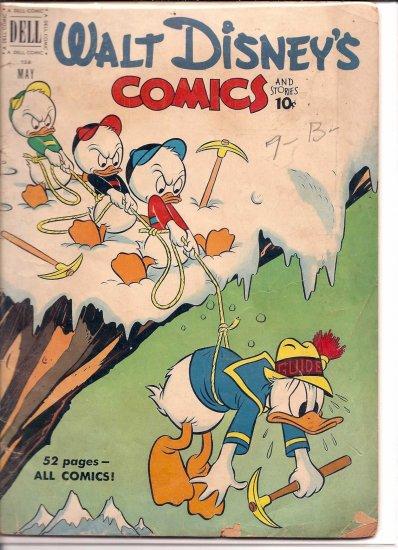 WALT DISNEY COMICS AND STORIES # 128, 3.0 GD/VG