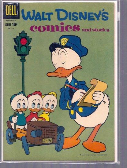WALT DISNEY COMICS AND STORIES # 242, 6.5 FN +