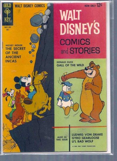 WALT DISNEY COMICS AND STORIES # 274, 5.0 VG/FN
