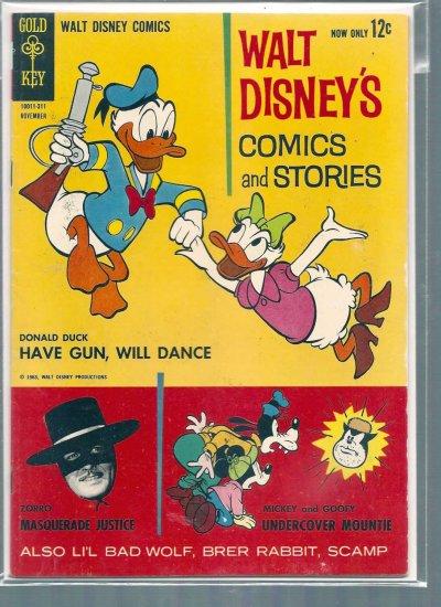 WALT DISNEY COMICS AND STORIES # 278, 5.5 FN -