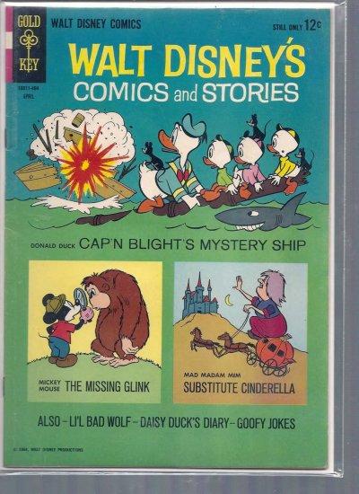 WALT DISNEY COMICS AND STORIES # 283, 4.5 VG +