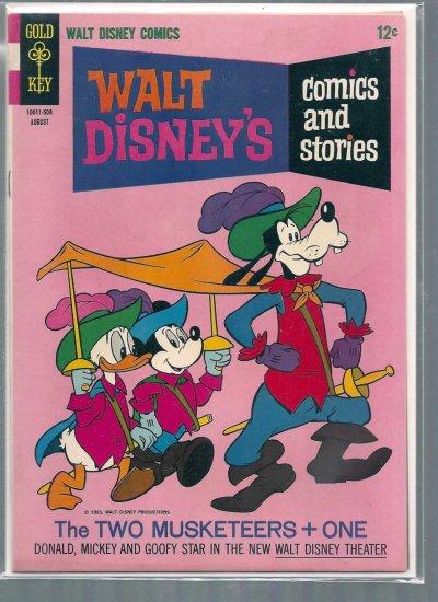 WALT DISNEY COMICS AND STORIES # 299, 6.5 FN +