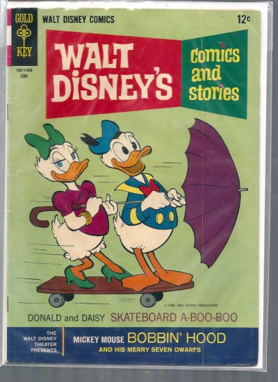 WALT DISNEY COMICS AND STORIES # 309, 4.0 VG