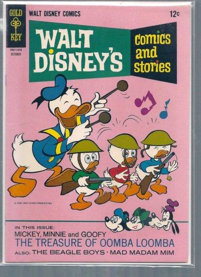 WALT DISNEY COMICS AND STORIES # 313, 6.5 FN +
