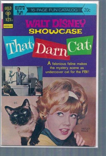 WALT DISNEY SHOWCASE THAT DARN CAT # 19, 4.5 VG +