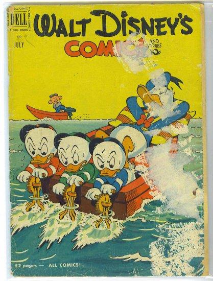 Walt Disney's Comics And Stories # 130, 1.5 FR/GD
