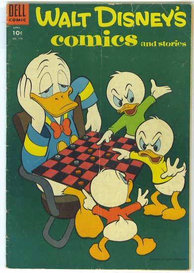 Walt Disney's Comics And Stories # 175, 4.0 VG