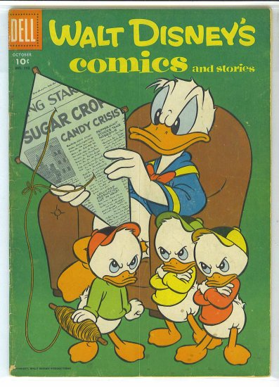 Walt Disney's Comics And Stories # 193, 3.0 GD/VG