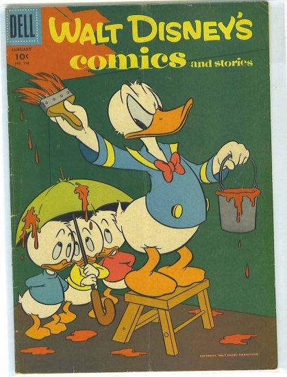 Walt Disney's Comics And Stories # 196, 4.0 VG