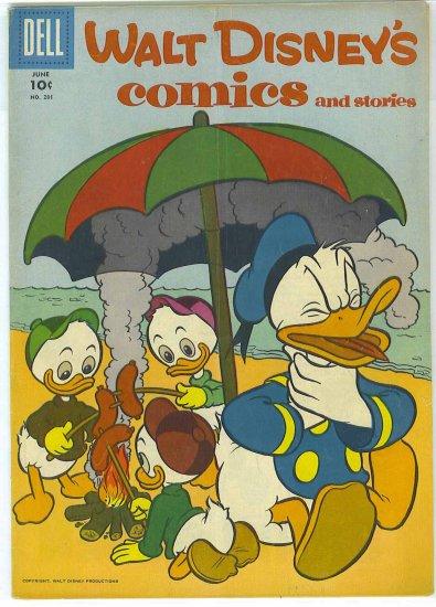 Walt Disney's Comics And Stories # 201, 4.5 VG +