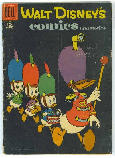 Walt Disney's Comics And Stories # 210, 2.5 GD +